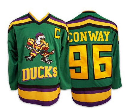 Mighty Ducks Charlie Conway Hockey Jersey