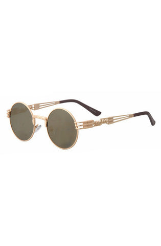 Notorious Sunglasses (Gold) - RoialBijouxx