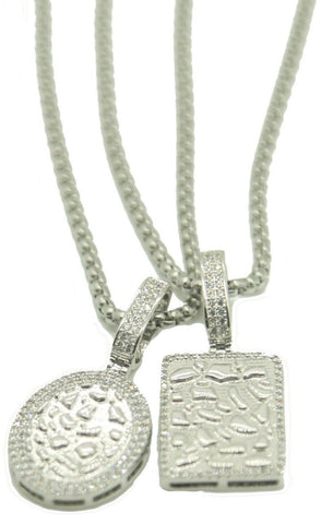 Nugget Necklace Pack (Silver)