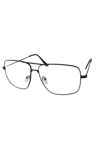 Piloto Clear Glasses (Black)