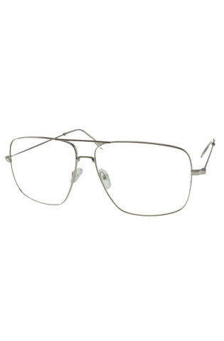 Piloto Clear Glasses (Silver)