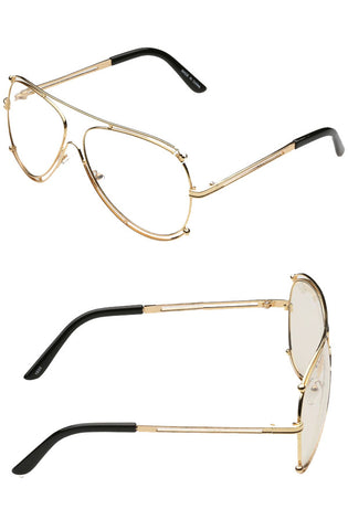 Ramrod Glasses (Gold)