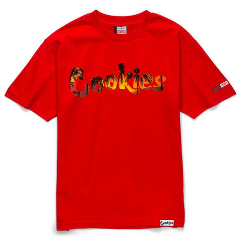 Scarface Tropical Sunset Tee (Red)
