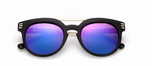 3 Stripe Sunglasses (Purple/Orange)