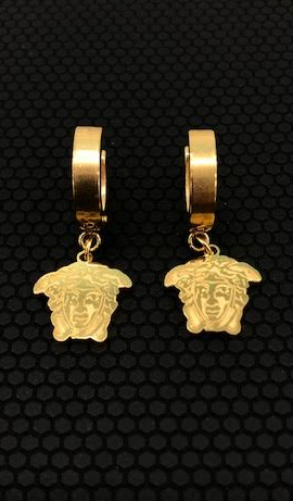 Medusa Dangle Earrings