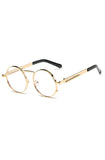 Sherlock Glasses (Clear Gold)