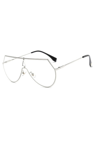 Terelli Clear Glasses (Silver)