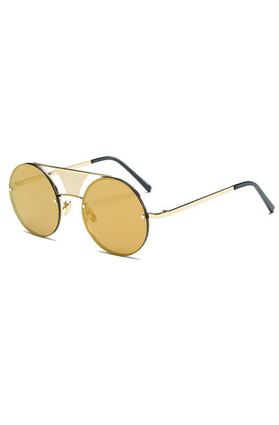 Vice Sunglasses (Gold/Brown)