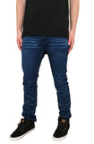 Wavy Denim Jeans (Navy)