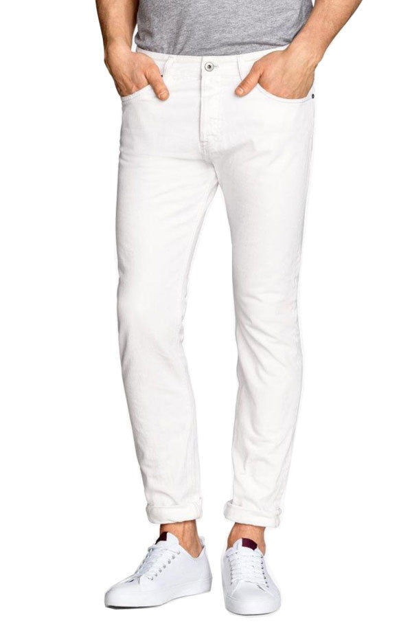 Denim Slim Fit (White) - RoialBijouxx