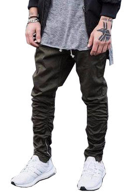 Zipper Jogger Pants (3 colors)