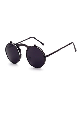 Future Flip Up Sunglasses (Black)