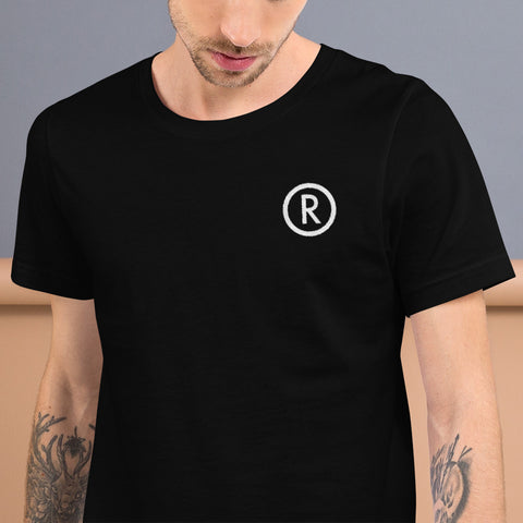"Trademark ""R"" Embroidery T-Shirt"
