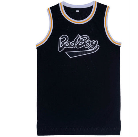 Biggie Smalls 72 Bad Boy Basketball Jersey