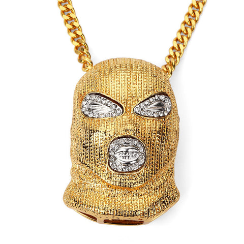 Ski Mask Necklace