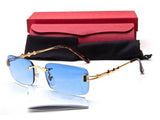 Buffalo Rimless Sunglasses