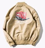 Mile Fly Bomber Jacket (Tan) *Made to Order*