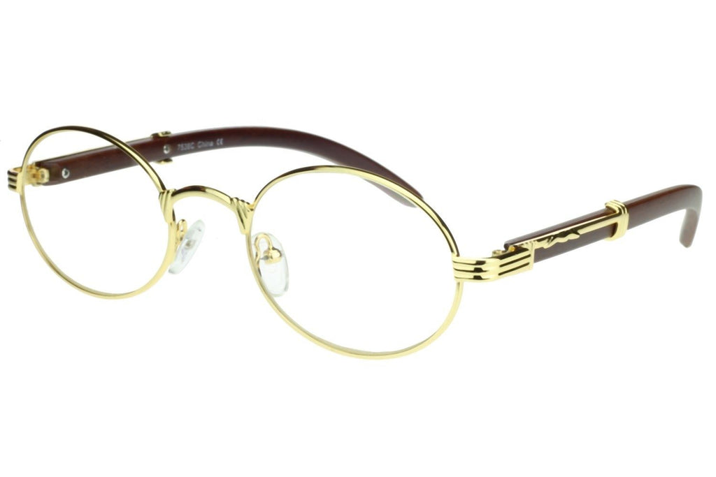 c4f6aa3c63a21 Oval Carter Glasses (Gold) – RoialBijouxx