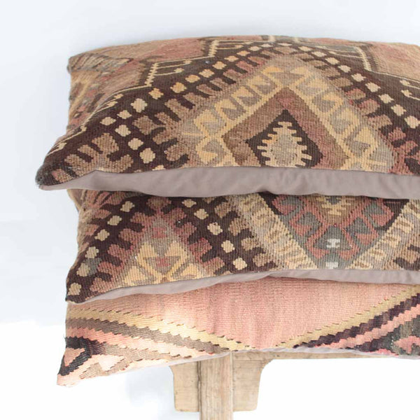 Vintage Turkish Kilim Pillow Case - Ingrid