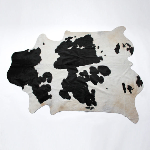 Cow Hide Rug - Black and White