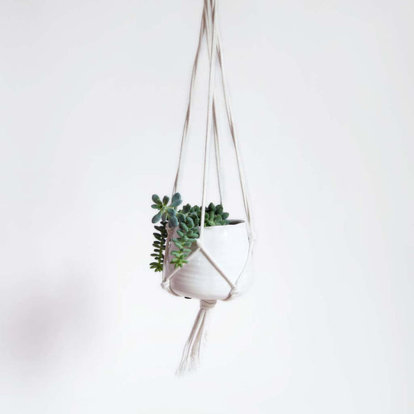 Hand Knotted Plant Hanger