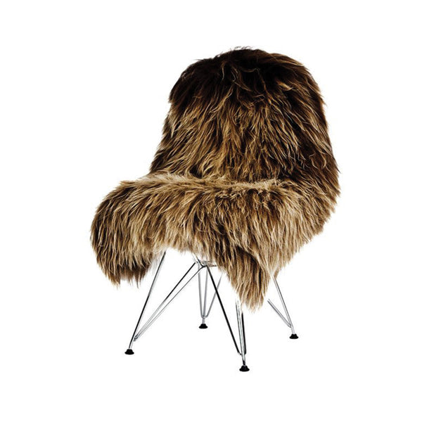 Sheepskin Longhair - Brown