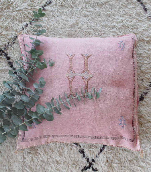 Copy of Cactus Silk Pillow - Rosa -2