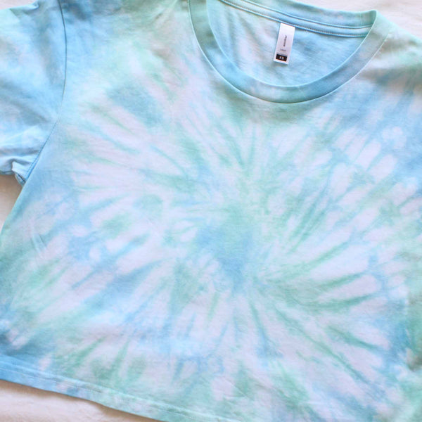 Seafoam Crop Top