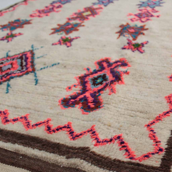 Lacy - Vintage Moroccan Azilal Rug