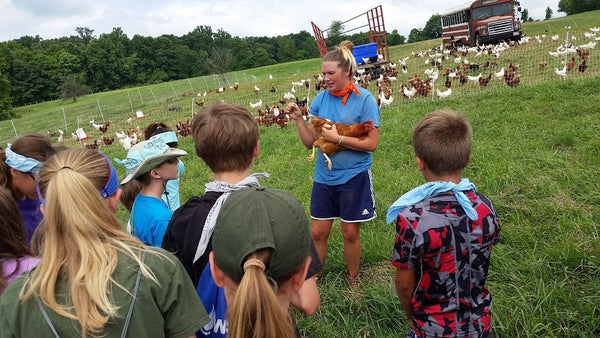 Farming & the Environment (Middle School Ages 11 - 14) August 20th to August 24th, 2018
