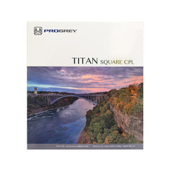 Progrey TITAN 150mm x 150mm square glass polarizing filters - High Transmission