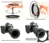 polarizer installation and rotation with Progrey cpl adapter