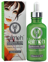 Yalmeh® Hyaluronic Acid Serum 100% Pure. Provides You Younger Skin, Reduces Appearances Of Dark Circles And Puffiness Naturally