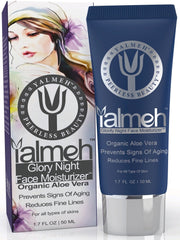 Yalmeh® Glorify Night Face Moisturizer  Nutrients-Based, pH-Balance, Chemical Free, Cold Processed