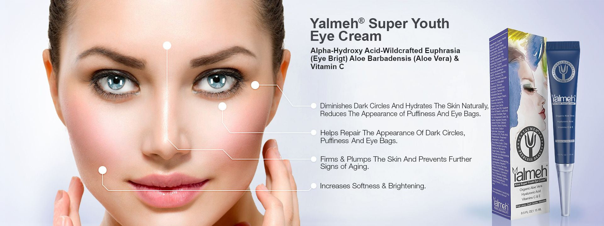 Super Youth Eye Cream By Yalmeh Naturals
