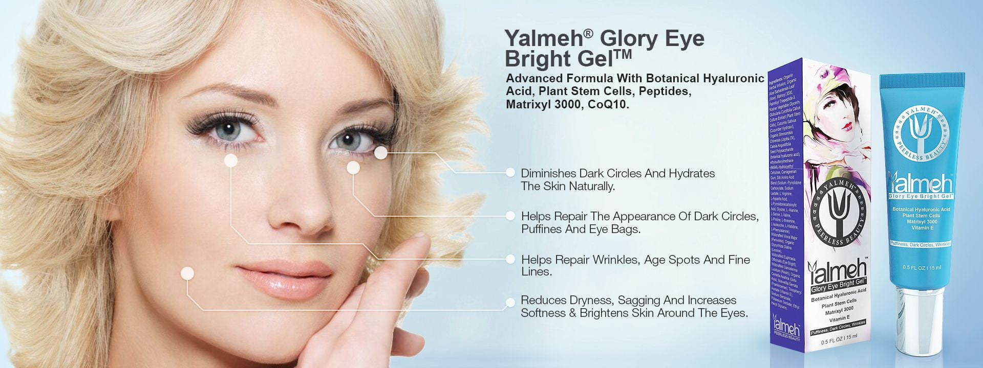 Eye Bright Gel By Yalmeh Naturals