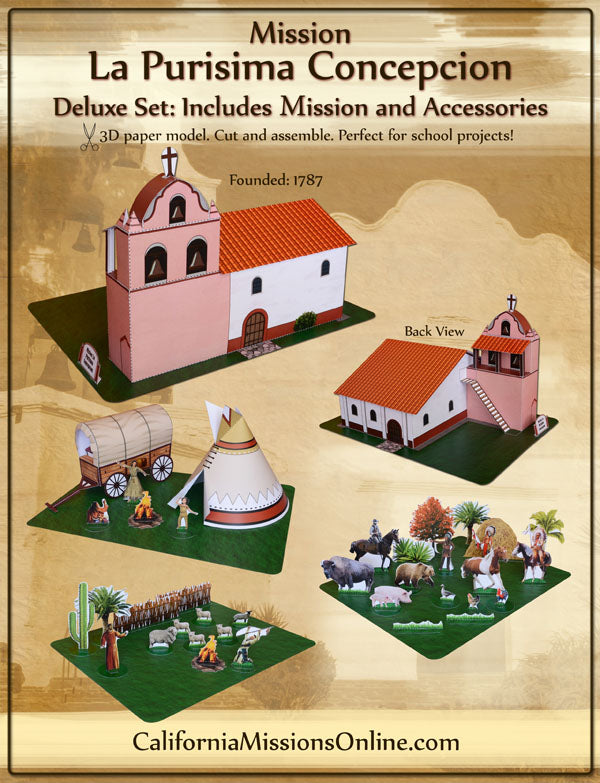 Mission San Diego Model Deluxe Set