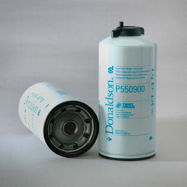 Fuel Water Separator Filter >> Donaldson Fuel Filter Water Separator Spin-on Twist&drain- P550900 – Donaldson Filters