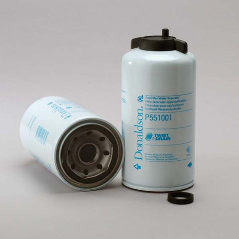 Donaldson Fuel Filter Water Separator Spin-on Twist&drain- P551001