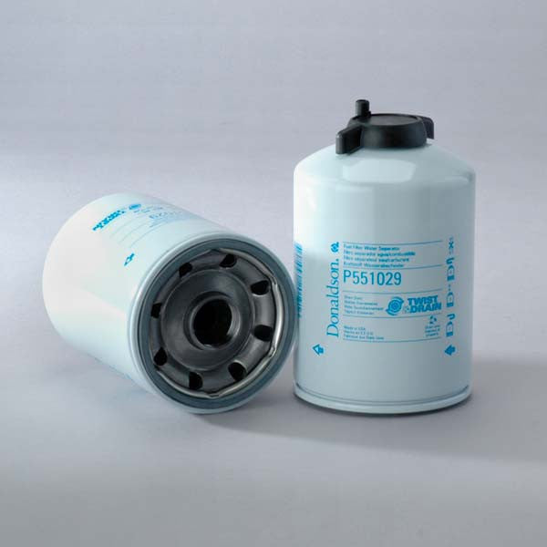 Donaldson Fuel Filter Water Separator Spin-on Twist&drain- P551029