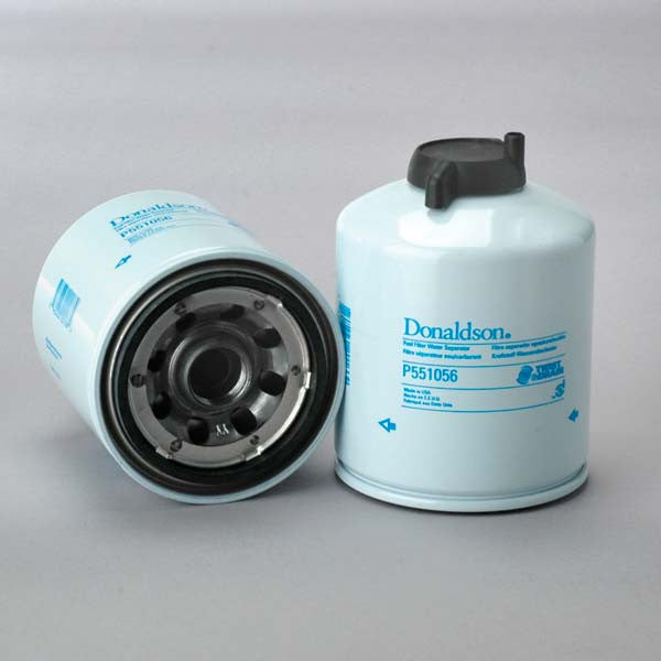 donaldson fuel filter water separator spin-on twist&drain- p551056