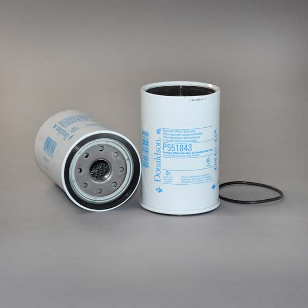 donaldson fuel filter water separator spin on p551843