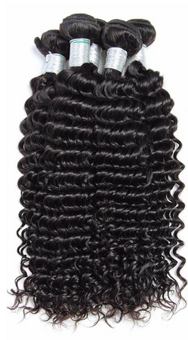 Virgin Hair - Indian Deep Curly | Bundles 18-30 Inches
