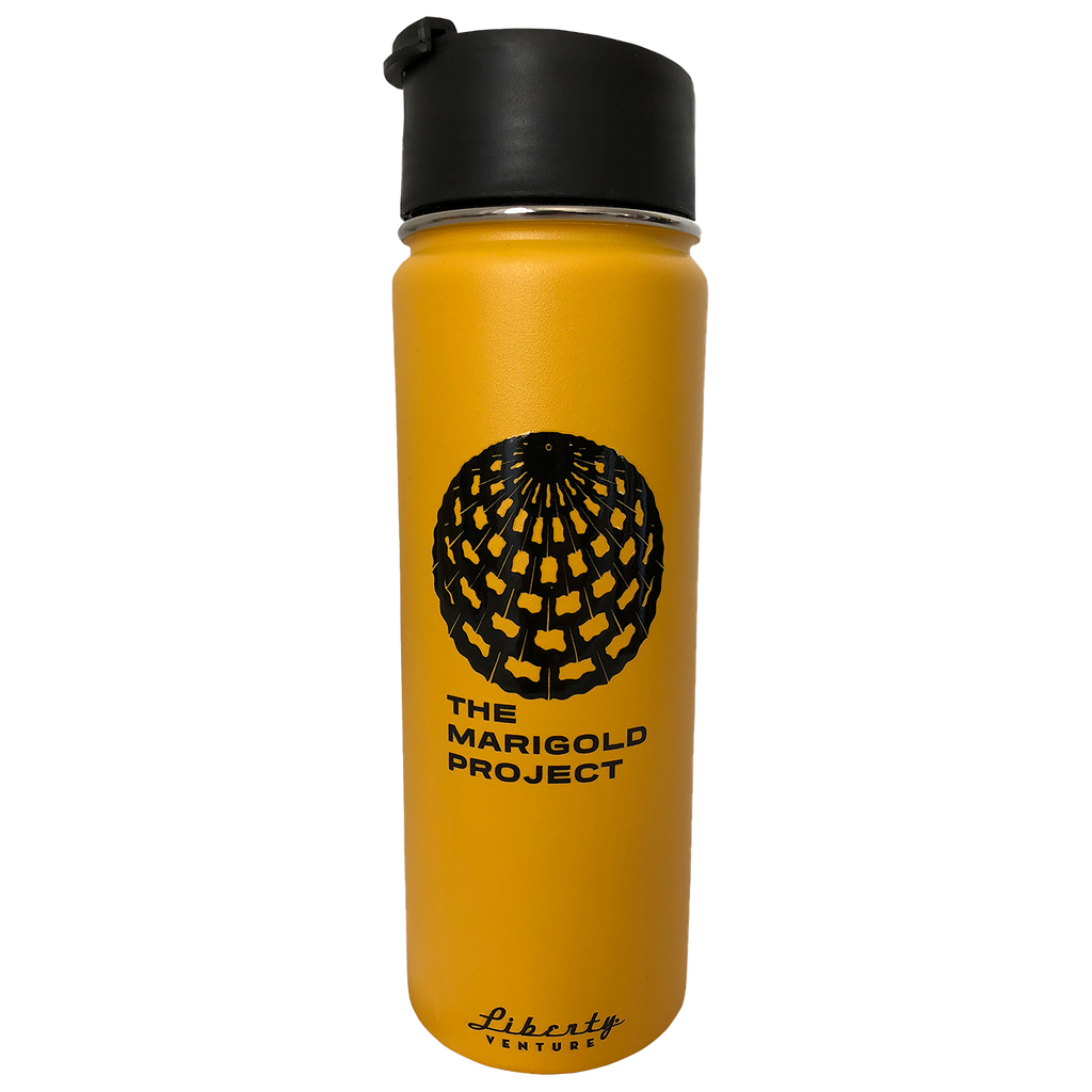 Marigold Project Water Bottle