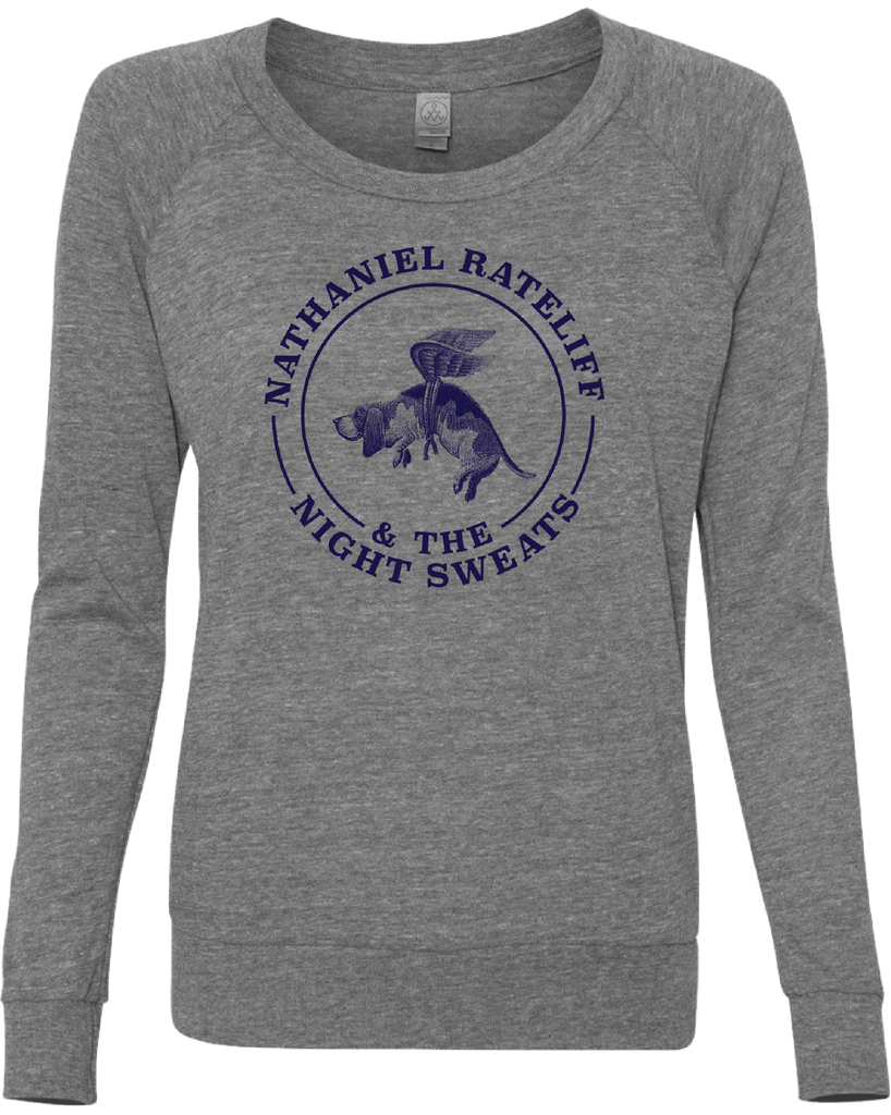 Ladies Basset Hound Long Sleeve