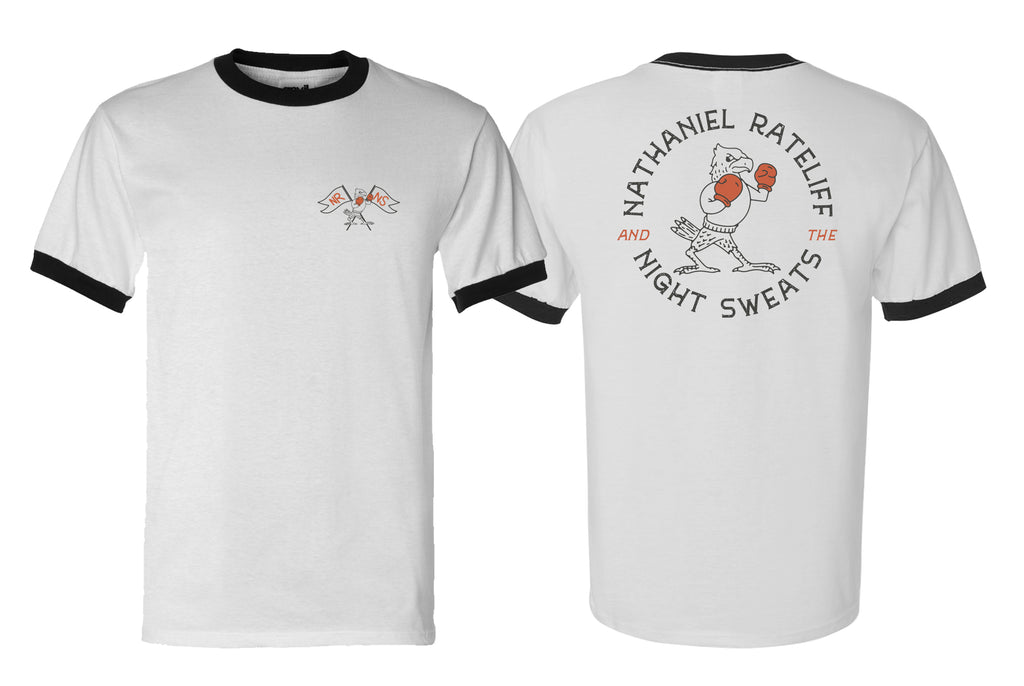 Boxing Chicken Ringer Tee