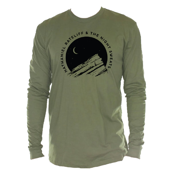 Red Rocks Moon Long Sleeve