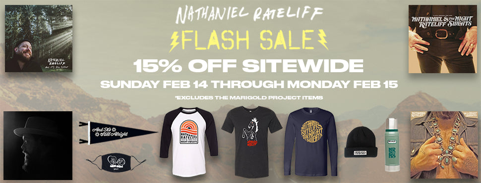 Official NRNS Online Store – Nathaniel Rateliff & The Night