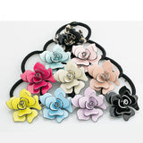 New Fashion Women Hair Accessories Jewelry Headbands Elastic Hair Bands Rose Flo