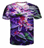New Fashion Summer Style WEED 3D Print T Shirt women Street Hip Hop Green Top Te
